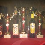 poháry a ceny pro vítěze