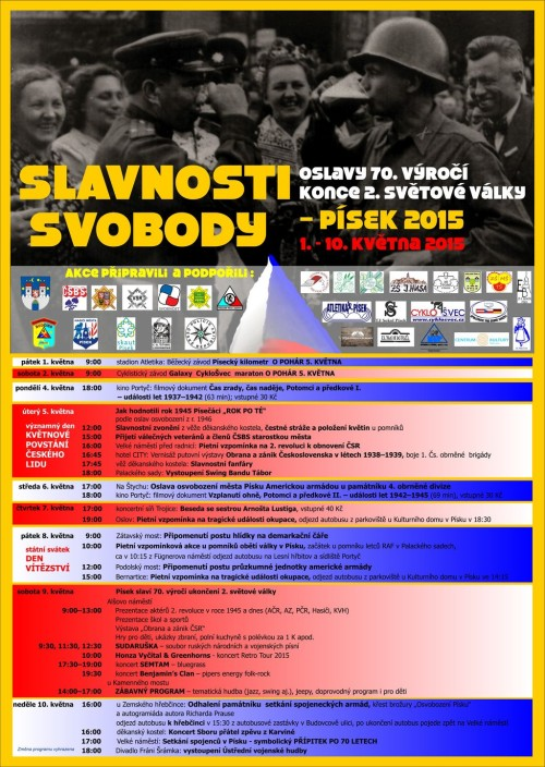 PLAKÁT_SLAVNOSTI SVOBODY 2015_Pisek