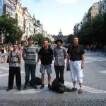 Václavské náměstí, červen 2012