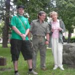 A. Procházka a R. Drašnar společně s paní Křivánkovou, 2011
