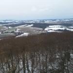 pěkná krajina s minimem sněhu....