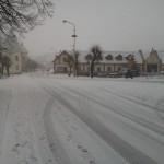 ... a začíná sněžit :-)