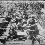 českoslovenští legionáři v obrněném vlaku