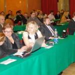 Eva Veselá na republikovém sněmu Strany svodných občanů, 2010