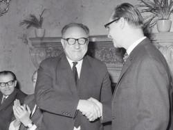František Kriegel s Alexandrem Dubčekem