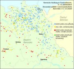 slovanska toponyma v bavorsku